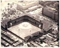 Shibe Park during double-header