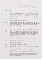 Interview with Joseph B. Kauss, 1969 July 11 [transcript]