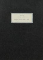 Interview with William T. Cloud [transcript]