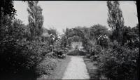 Gardens at Elton, designed by Mrs. A. Felix du Pont