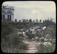 Upper terrace rock garden at Granogue, home of Mr. and Mrs. Irénée du Pont