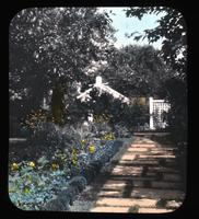 Town garden of Mrs. Harry G. Haskell