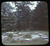 Rock garden of Mrs. John B. Bird at Hillcroft