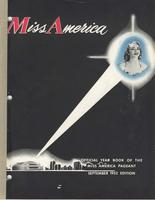 Official Yearbook of the Miss America Pageant, 1952