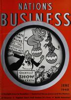 Nation's Business [June 1940]