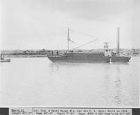 Ash, Coal & Water Barge #14, built for the U.S. Navy