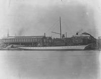 The yacht, Marietta, built for H. B. Moore