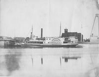 Side wheel steamer, Fortaleza, Hull 100, built for Joas Cavalcanta of Brazil