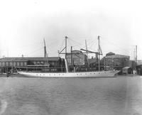 Steam yacht, Cangarda, built for Charles J. Canfield of Chicago, Ill.