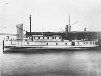 Twin screw steamer, Naugatuck, built for Naugatuck Valley Steamboat Company