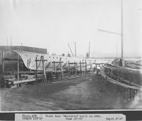 Steel boat, Marietta, built for H. B. Moore