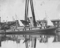 Tugboat, Miraflores, built for Isthmian Canan Commission