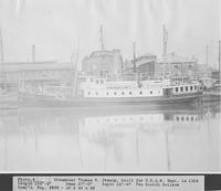 Steamboat, Thomas S. Jessup, built for U.S.Q.M. [United States Quarter Master] Department
