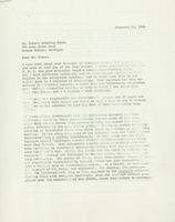 Solicitation From Raymond Loewy to Robert Evans