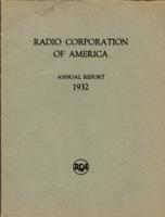 Radio Corporation of America Annual Report for the Year 1932