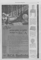 New Principles in Radio Developed by RCA