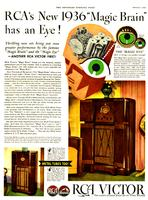 RCA's New 1936 'Magic Brain' Has an Eye!