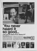 You Never Heard It So Good Until You've Heard RCA Stereo 8!