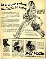 RCA Victor Shows You How to Have Extra Fun This Summer
