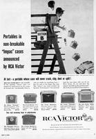 Portables in Non-Breakable 'Impac' Cases Announced by RCA Victor
