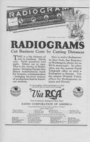 Radiograms: Cut Business by Cutting Distances