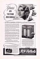 Yours on Victor Records...the Musical Highlights of 1938-39 by the World's Greatest Artists