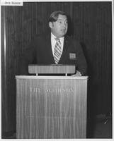 Jack Goeken at 1970 conference for MCI regional carrier executives