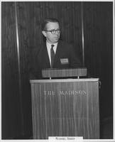 Michael Bader at 1970 conference for MCI regional carrier executives
