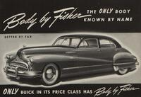 Body by Fisher, the only body known by name [Buick]