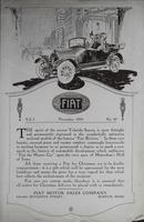 Fiat News  Vol. I, No. 10.  [November 1915]