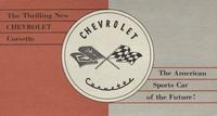 The Thrilling New Chevrolet Corvette: The American Sports Car of the Future!