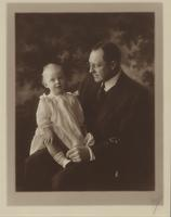 Harry Garner Haskell (1870-1951) and his daughter, Elizabeth (Haskell) Fleitus