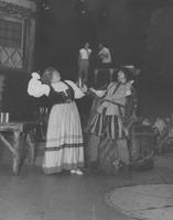 Esther Bradley as Margo and William Stirling as Guy Tabarie in performance of The Vagabond King at Longwood