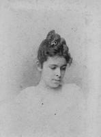 Alice Belin (du Pont) as a young woman