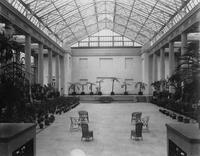 Conservatory interior at Longwood