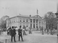 Nebraska State Building at World's Columbian Exposition