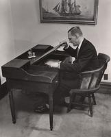 E. I. du Pont, III, at the Founder's Desk, Eleutherian Mills
