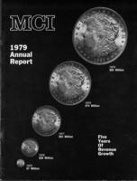 MCI 1979 Annual Report: Five Years of Revenue Growth
