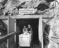 Experimental tunnel used in explosives research