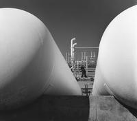 Ammonia storage tanks at Memphis, Tennessee, plant