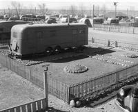 Section of trailer camp at Hanford Engineering Works