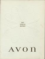 Avon annual report, 1961
