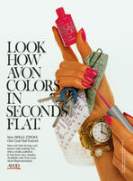 Look How Avon Colors in Seconds Flat