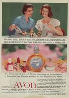 Magazine advertisement used in Mexico
