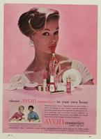 Magazine advertisement used in England