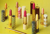 Display of Avon Lipstick Products