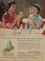 Magazine advertisement used in Cuba and Venezuela