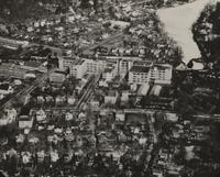 Aerial view of Suffern, N.Y. facilities showing the Avon Laboratory