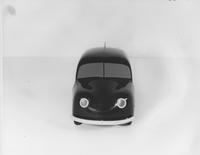 1945 model car, front view