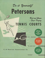 Petersons Red and Green Fast Drying Tennis Courts